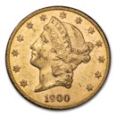 1900-S $20 Liberty Gold Double Eagle AU
