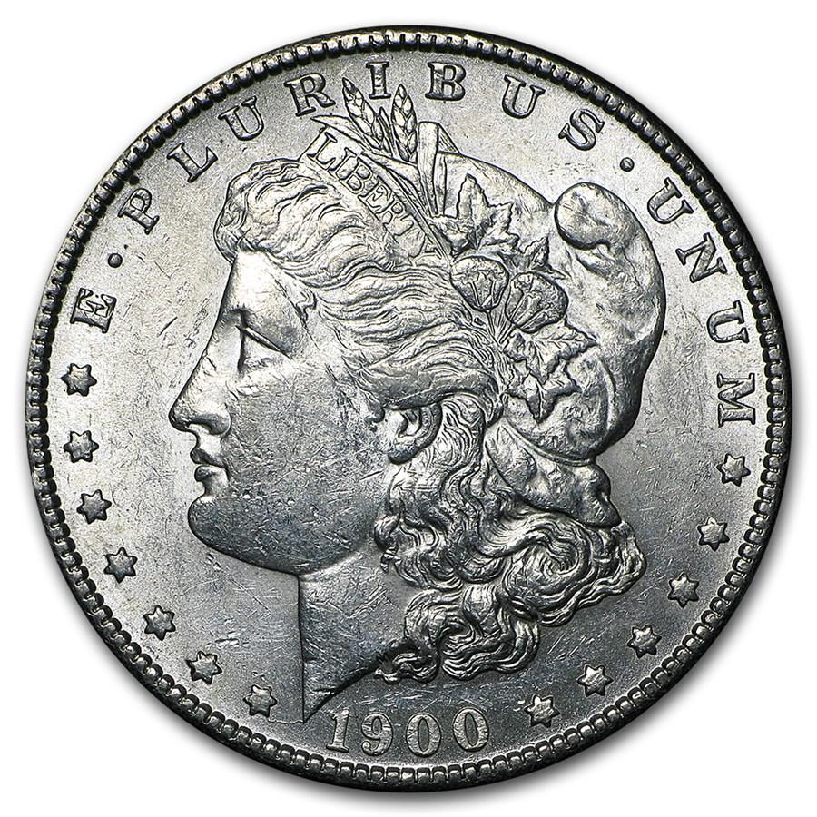1900-S Morgan Dollar AU-55