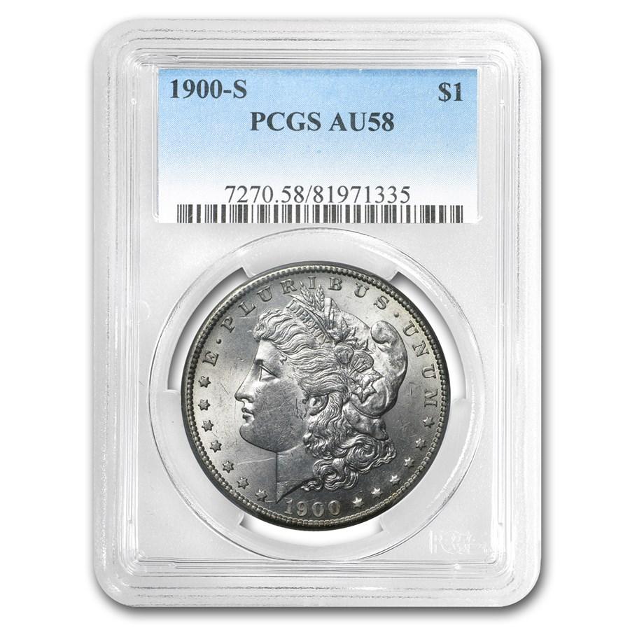 1900-S Morgan Dollar AU-58 PCGS