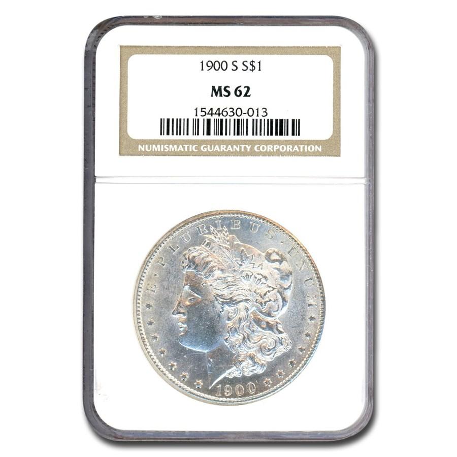 1900-S Morgan Dollar MS-62 NGC