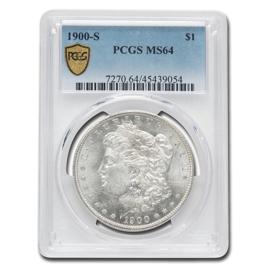 1900-S Morgan Dollar MS-64 PCGS