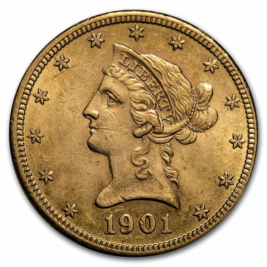 1901 $10 Liberty Gold Eagle BU