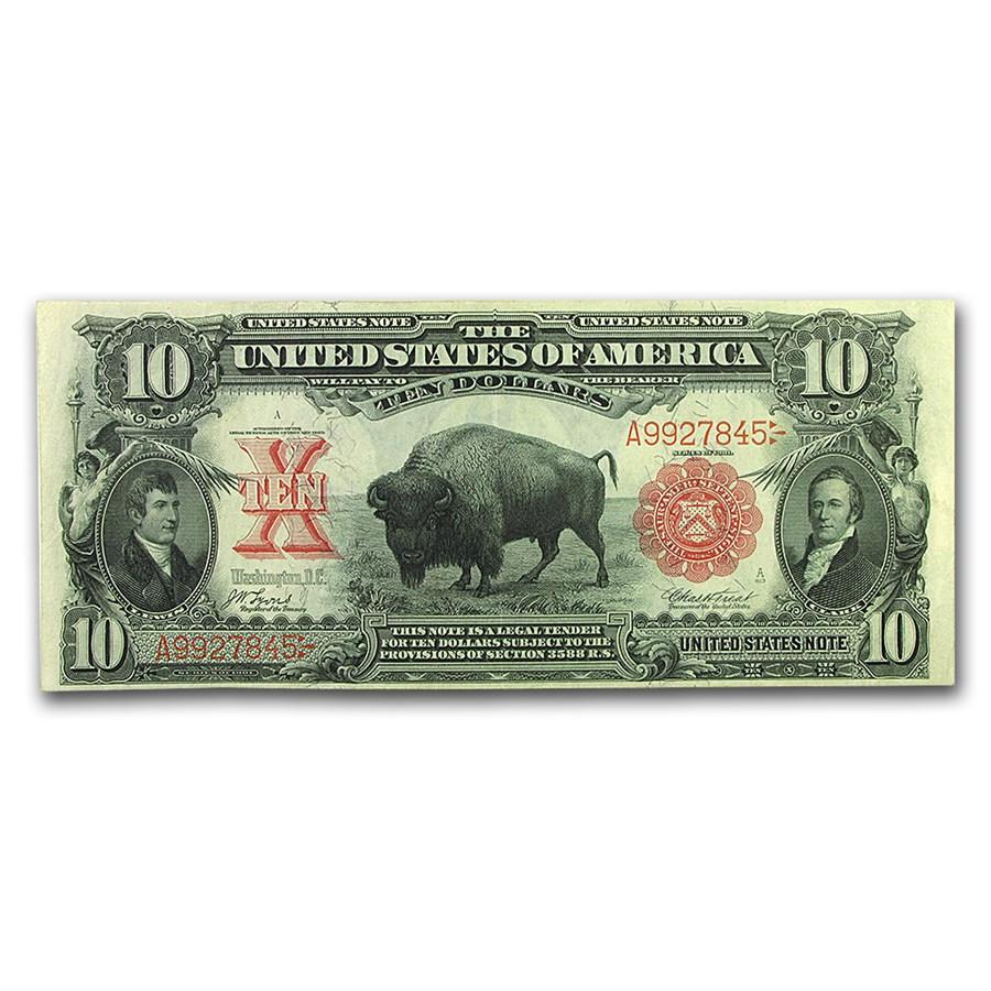 1901 $10 United States Note Lewis & Clark/Bison