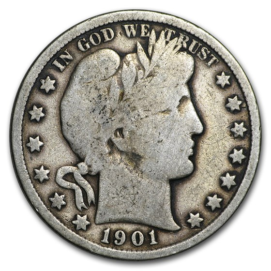1901 Barber Half Dollar Good