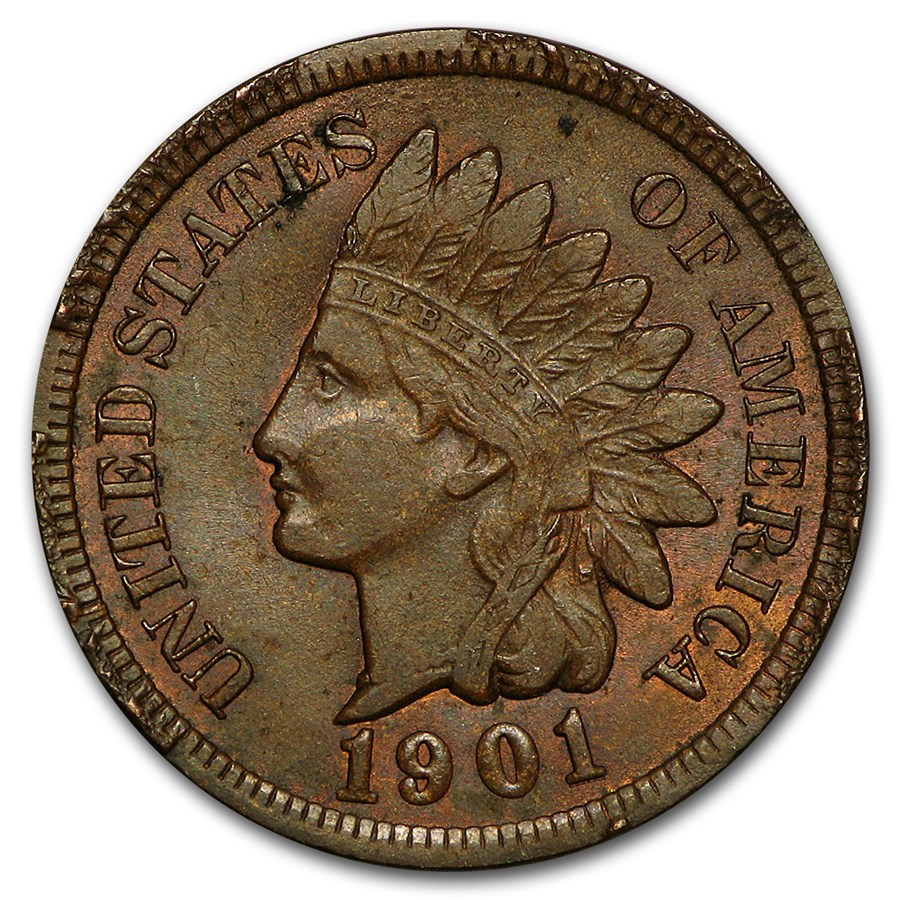 1901 Indian Head Cent BU