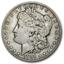 1901 Morgan Dollar Fine