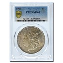 1901 Morgan Dollar MS-61 PCGS