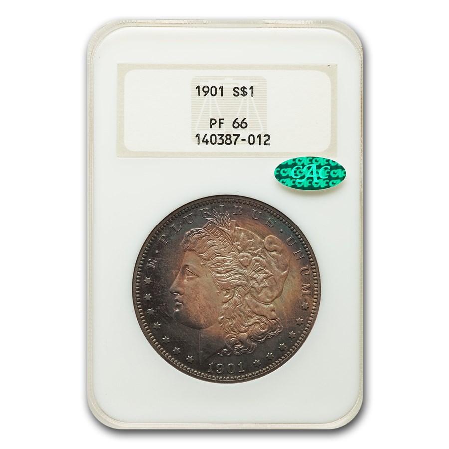 1901 Morgan Dollar PF-66 NGC CAC