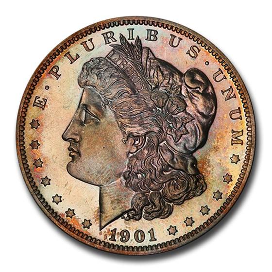 1901 Morgan Dollar PR-65 PCGS
