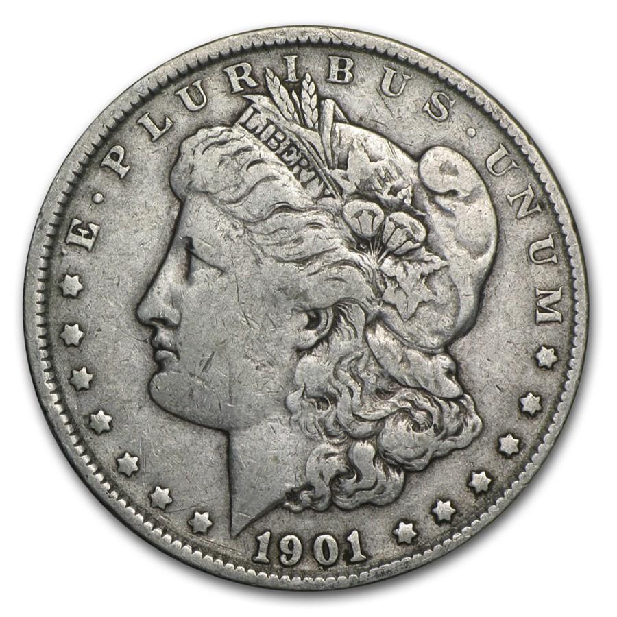 1901 Morgan Dollar VF