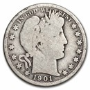 1901-O Barber Half Dollar AG