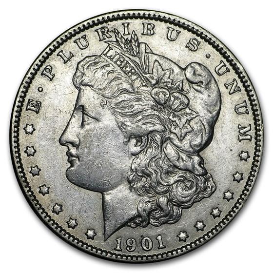 1901-O Morgan Dollar AU