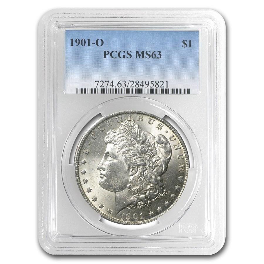 1901-O Morgan Dollar MS-63 PCGS