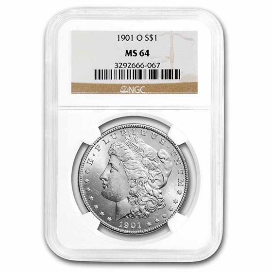 1901-O Morgan Dollar MS-64 NGC