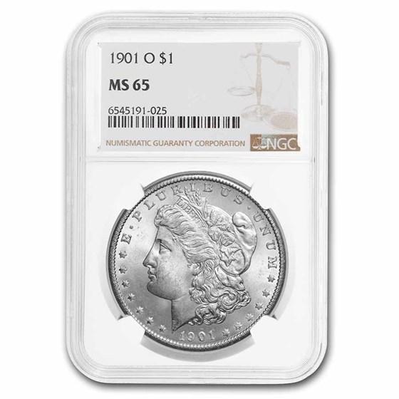 1901-O Morgan Dollar MS-65 NGC