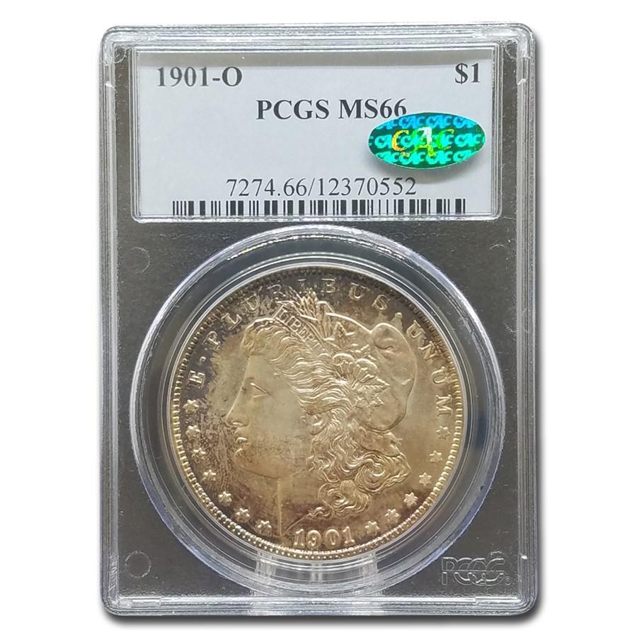 1901-O Morgan Dollar MS-66 PCGS CAC