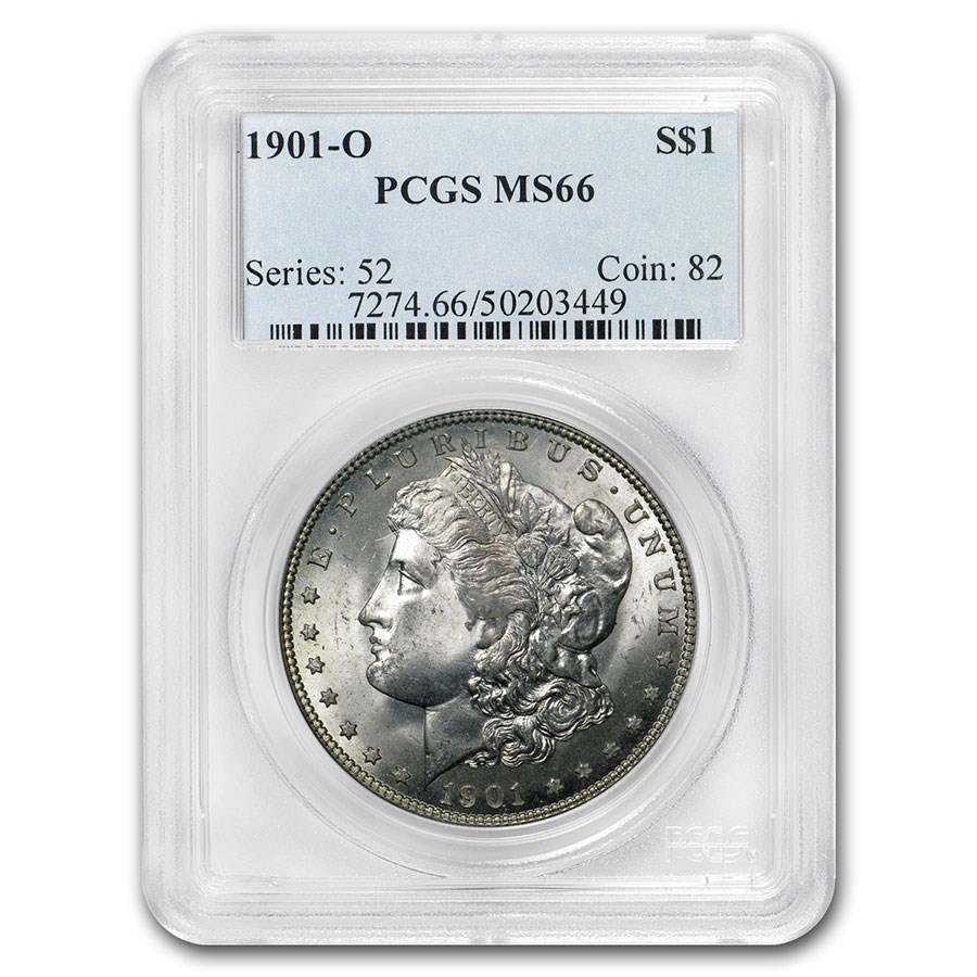 1901-O Morgan Dollar MS-66 PCGS