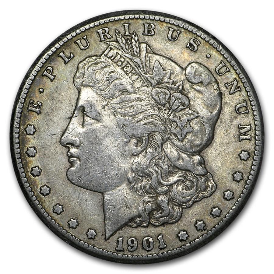 1901-O Morgan Dollar XF
