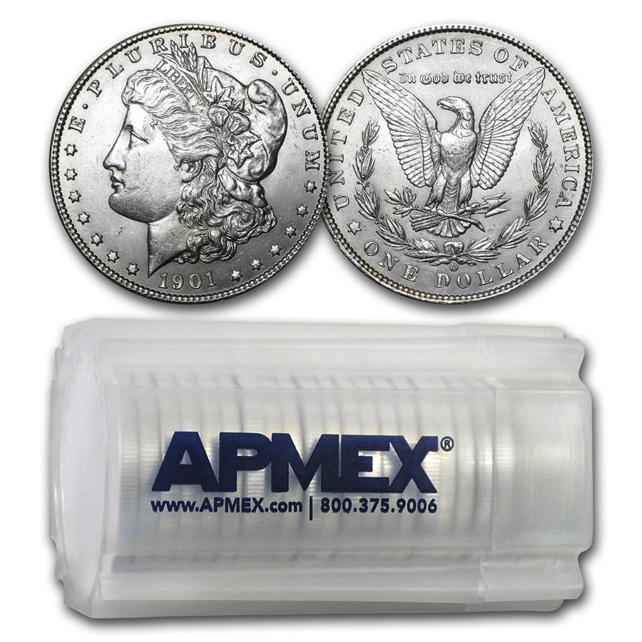 1901-O Morgan Dollars BU (20 Count Roll)