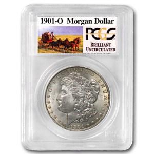 1901-O Stage Coach Morgan Dollar BU PCGS