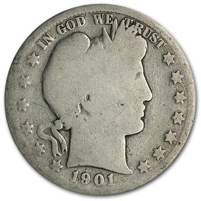 1901-S Barber Half Dollar Fair