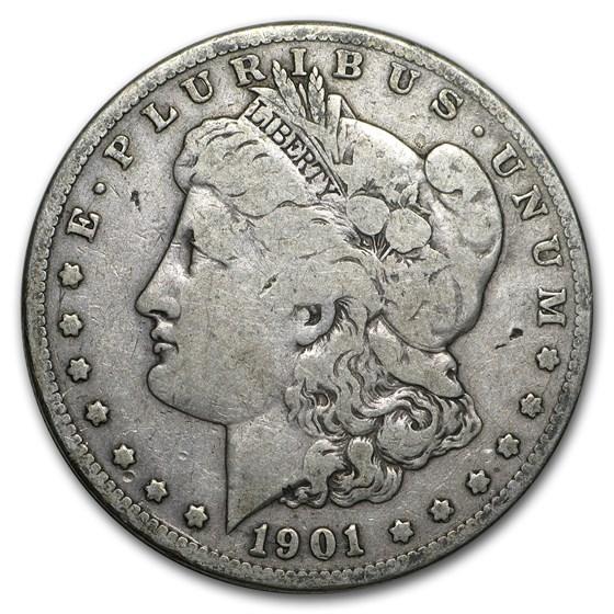 1901-S Morgan Dollar VG/VF