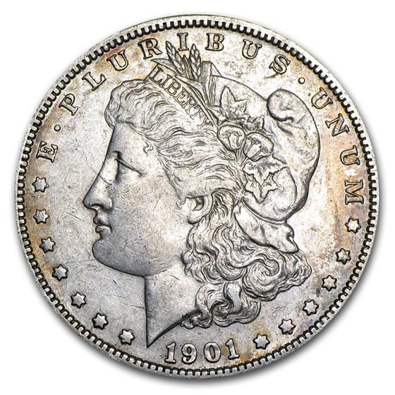 1901-S Morgan Dollar XF