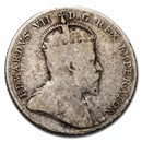 1902-1910 Canada Silver 10 Cents Edward VII Avg Circ (Good-VG)