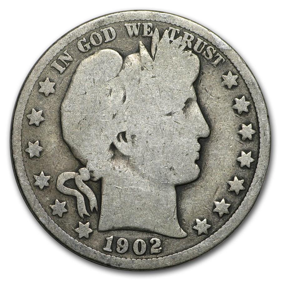 1902 Barber Half Dollar Good