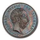 1902-E German Saxony-Albertine Albert's Death 5 Mark MS-66 NGC