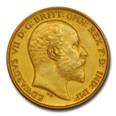 1902 Great Britain Gold Half Sovereign Edward VII PR-63 PCGS