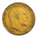 1902 Great Britain Gold Two Pounds Edward VII PR-63 NGC (Matte)