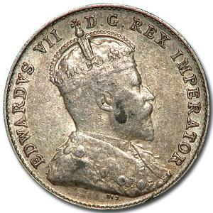 1902-H Canada 10 Cents AU