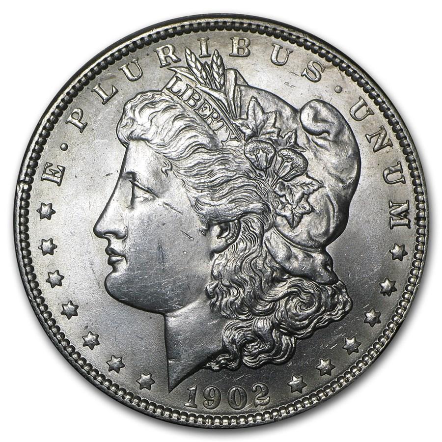 1902 Morgan Dollar BU