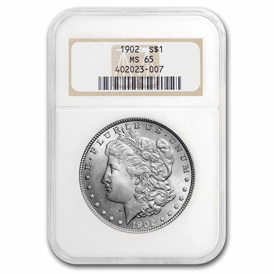 1902 Morgan Dollar MS-65 NGC
