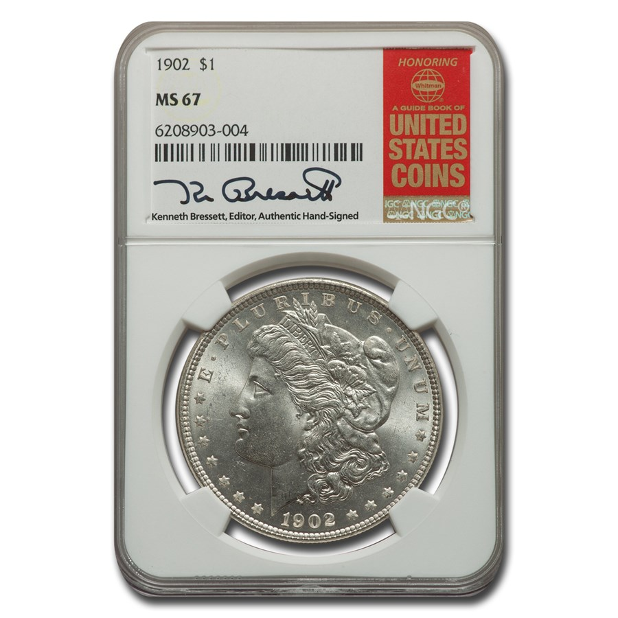 1902 Morgan Dollar MS-67 NGC