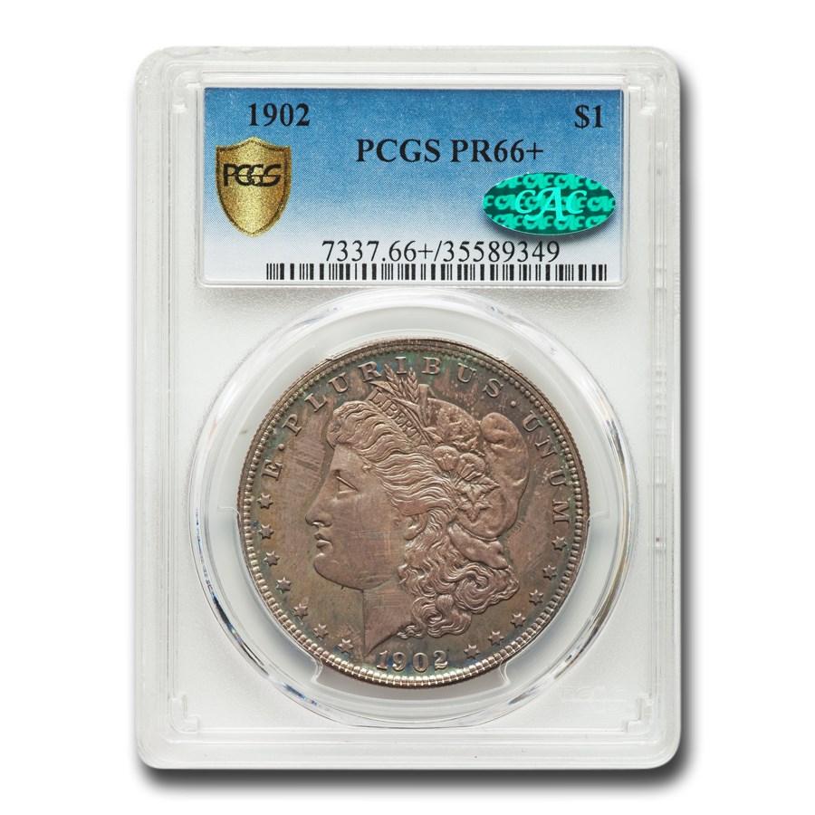 1902 Morgan Dollar PR-66+ PCGS CAC