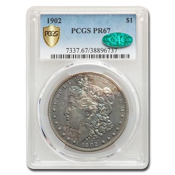 1902 Morgan Dollar PR-67 PCGS CAC