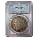 1902 Morgan Dollar VF-30 PCGS (VAM 4 Doubled Ear)