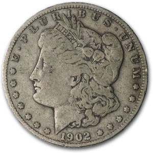 1902 Morgan Dollar VF (VAM-4, Doubled Ear, Top-100)