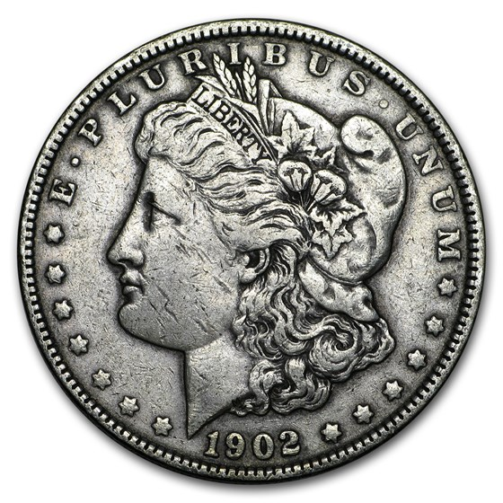 1902 Morgan Dollar VG/VF