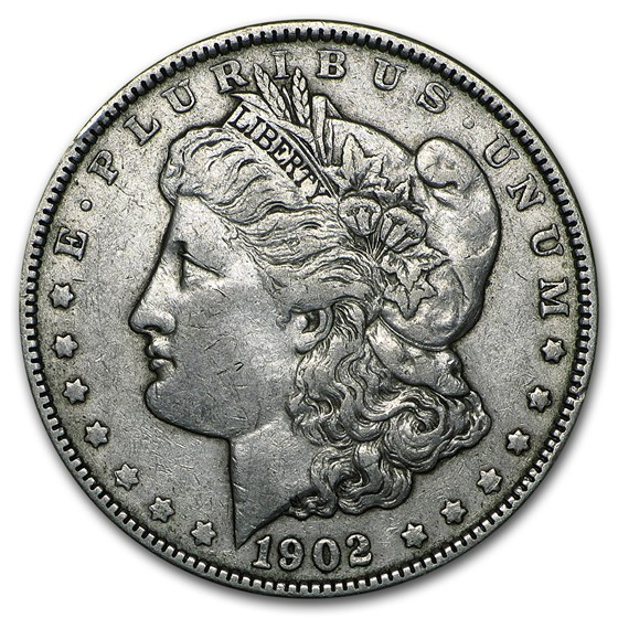 1902 Morgan Dollar XF