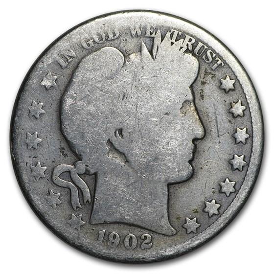1902-O Barber Half Dollar Good