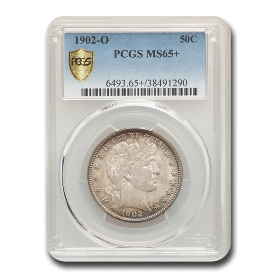1902-O Barber Half Dollar MS-65+ PCGS
