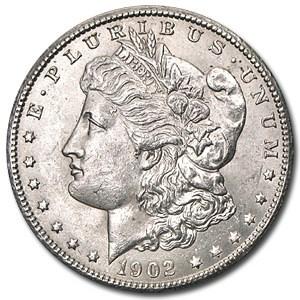 1902-O Morgan Dollar AU