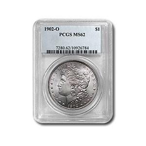 1902-O Morgan Dollar MS-62 PCGS
