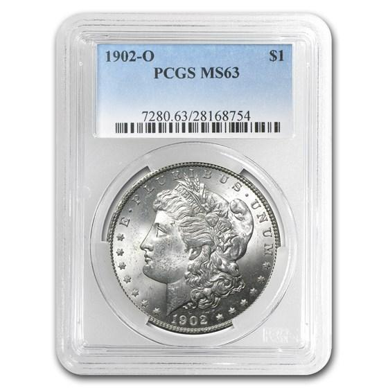 1902-O Morgan Dollar MS-63 PCGS