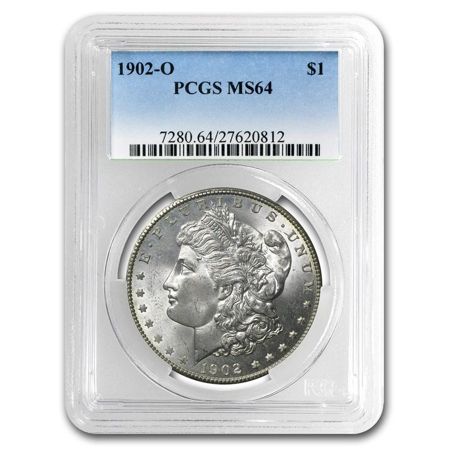 1902-O Morgan Dollar MS-64 PCGS