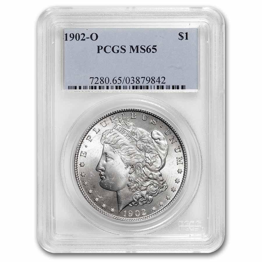 1902-O Morgan Dollar MS-65 PCGS