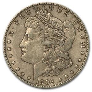 1902-O Morgan Dollar XF
